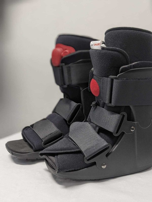 CAMBoot Ankle Injuries